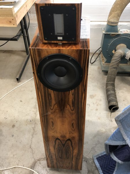 Kaiser Acoustics Classics w/ upgraded veneer - Beautiful