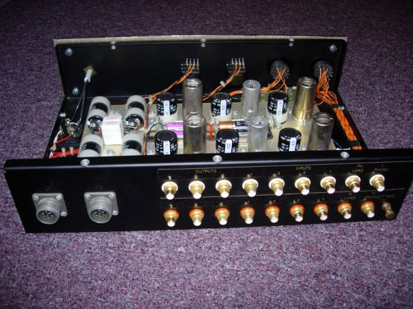 Classic and Rare Loesch & Wiesner Phono / Linestage Preamplifier