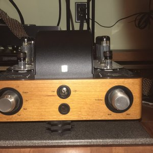 Unison S6 Integrated Amp - modified by Bill Thalman at Music Technology, Inc.